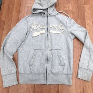 Abercrombie and Fitch muscle fit hoodie